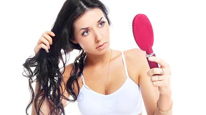 Włosy ztendencją dowypadania - Maseczka nawłosy