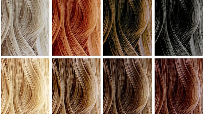 Dobór koloru włosów