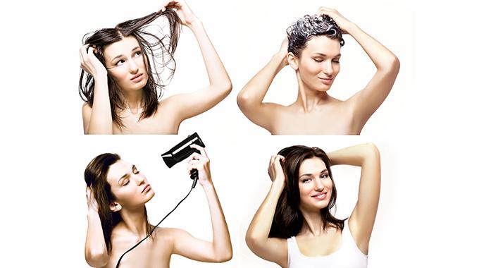 Hairvity Mycie włosów