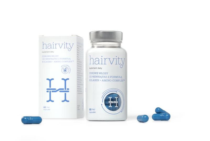 Hairvity suplement nawłosy zkolagenem