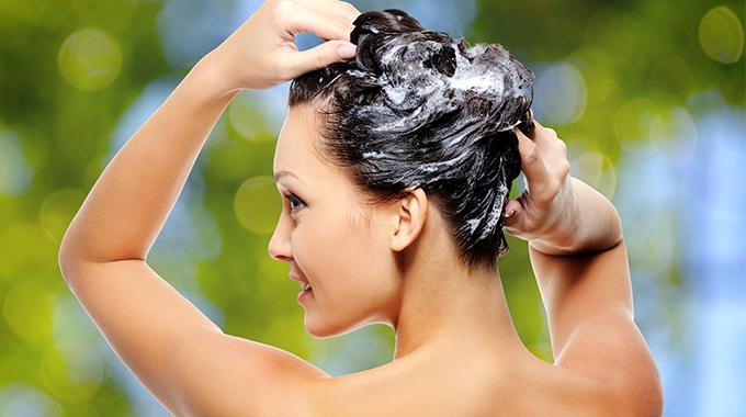 Peeling nawłosy