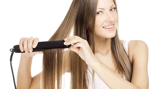 Fryzury robione prostownicą dowłosów