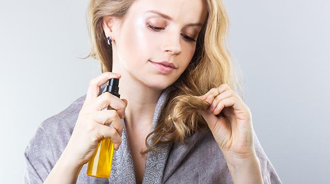 Przesuszone włosy - pielęgnacja odzewnątrz