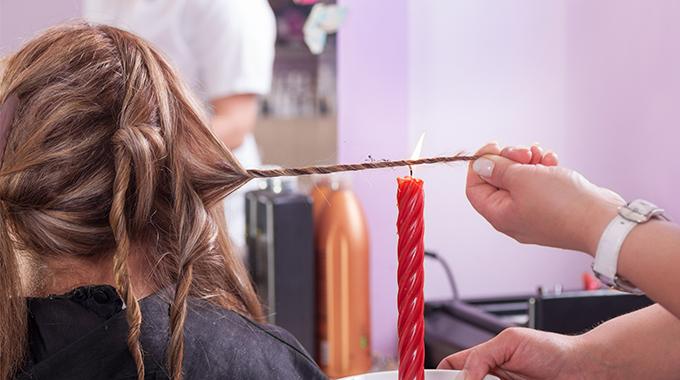 Velaterapia, czyli opalanie włosów ogniem - Halier ● Blog