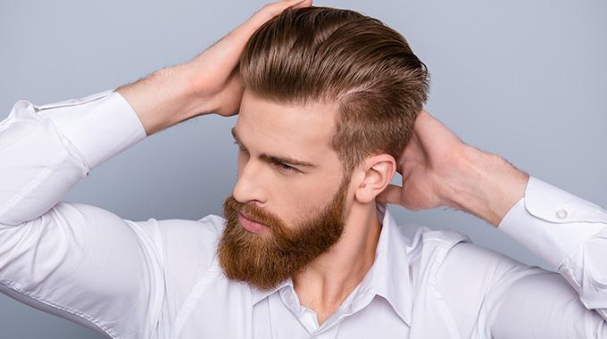 Klasyczne Męskie Fryzury Męskie Włosy W Wersji Retro