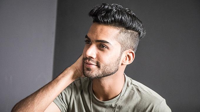 Męskie włosy
