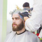 Farbowanie męskich włosów