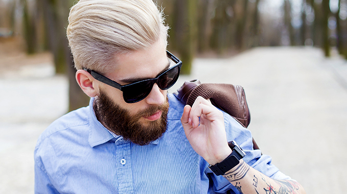 farbowanie włosów umężczyzn