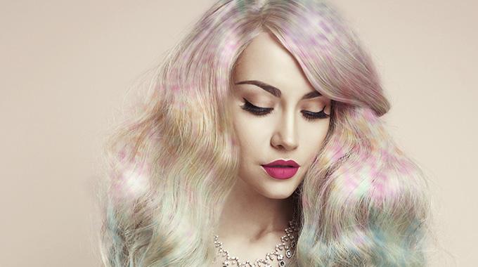 confetti hair