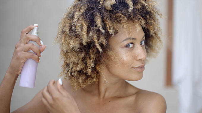 Suchy szampon dowłosów