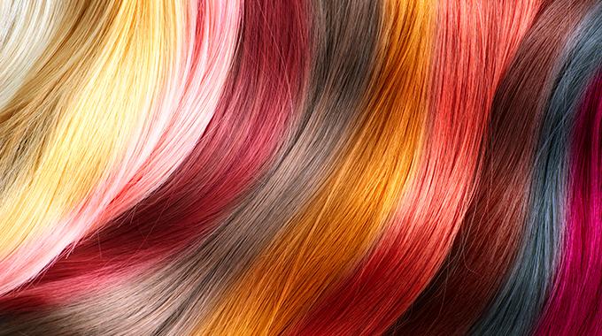 Kolory sprayów dowłosów