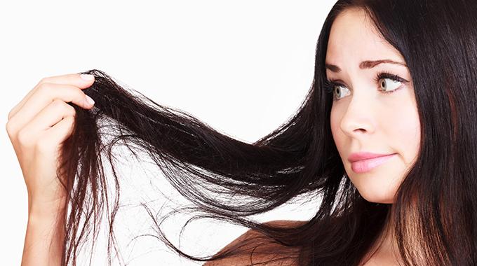 Matowe włosy