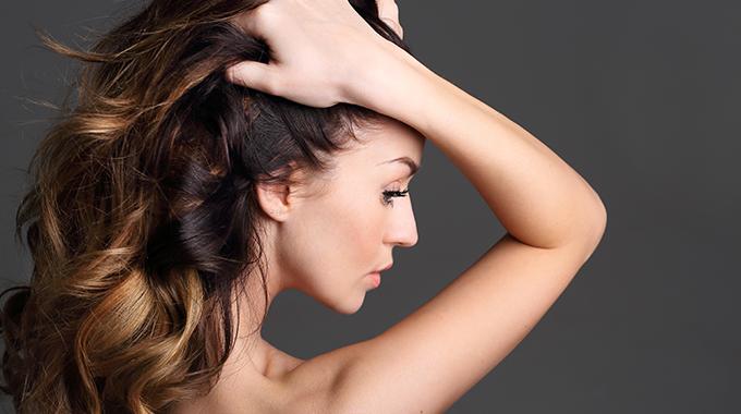 Refleksy nawłosach