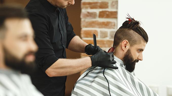 Fryzura top knot