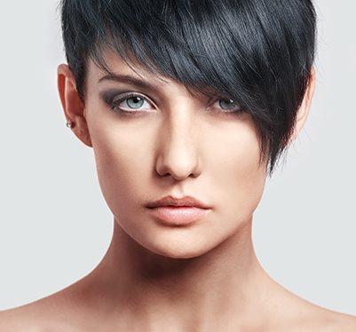 Bardzo krótkie włosy