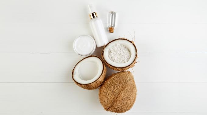 Olej kokosowy nawłosy
