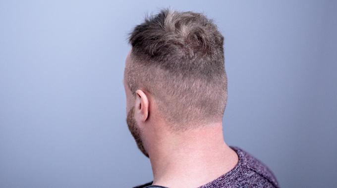 French crop stylizacja włosów