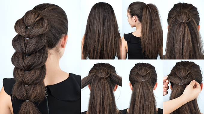 Stylizacja karbowanych włosów