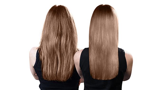 Włosy popolerowaniu