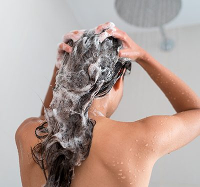 Odżywianie włosów przed myciem