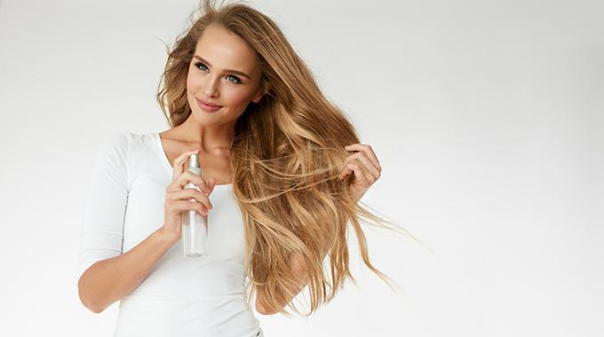 Mgiełka dostylizacji włosów