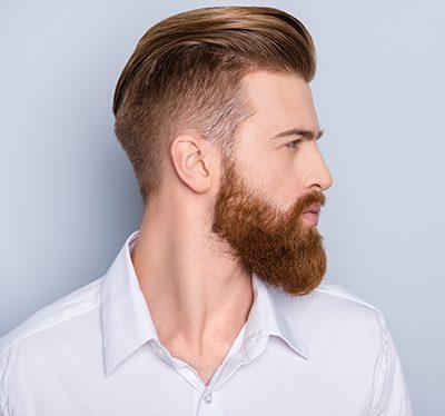 Fryzury do brody