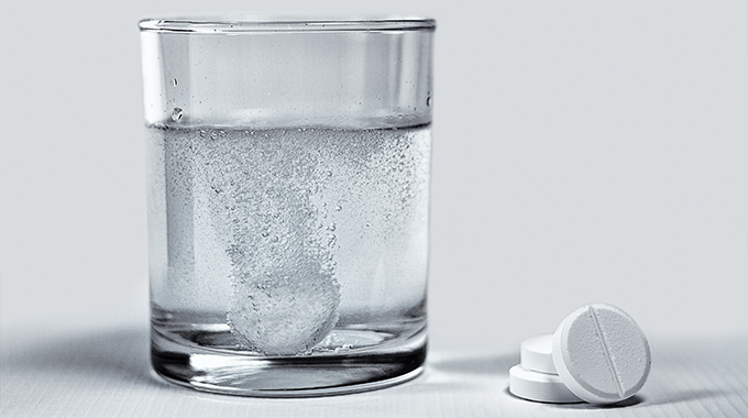 Aspiryna wtabletkach musujących